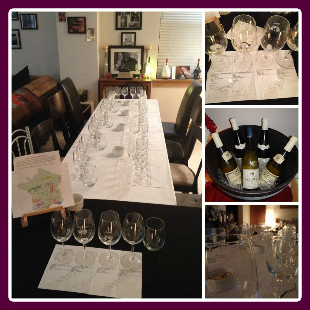 Collage - Tasting Setup