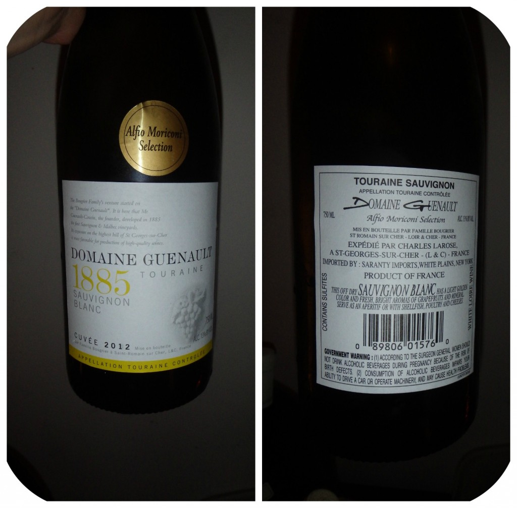 Collage Wine 1 - Touraine Sauvignon