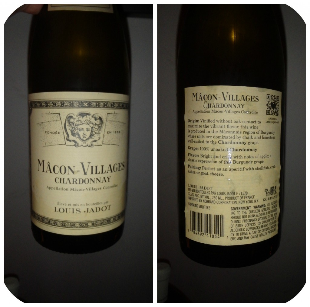 Collage Wine 3 - Macon Villages Chardonnay