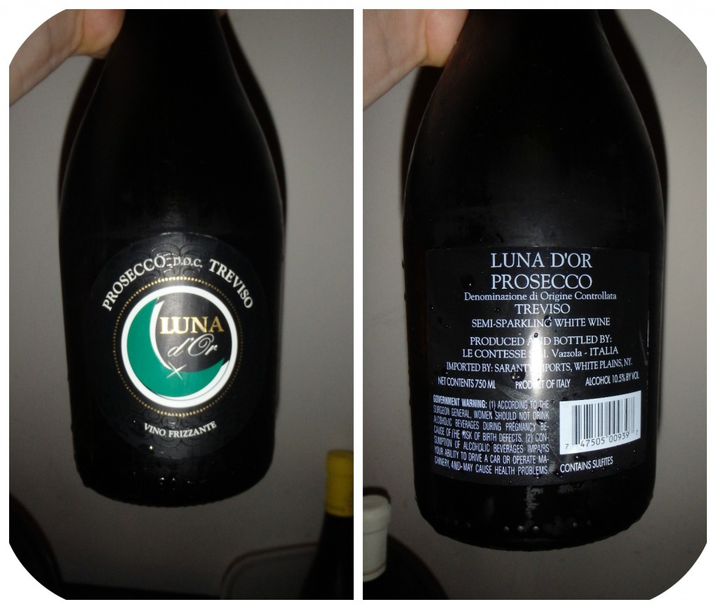 Collage Wine A-Luna D'or Prosecco