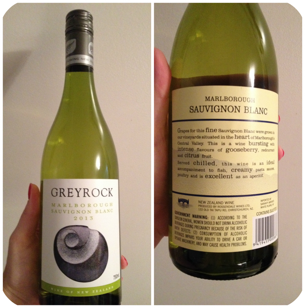 Grey Rock Sauv Blanc